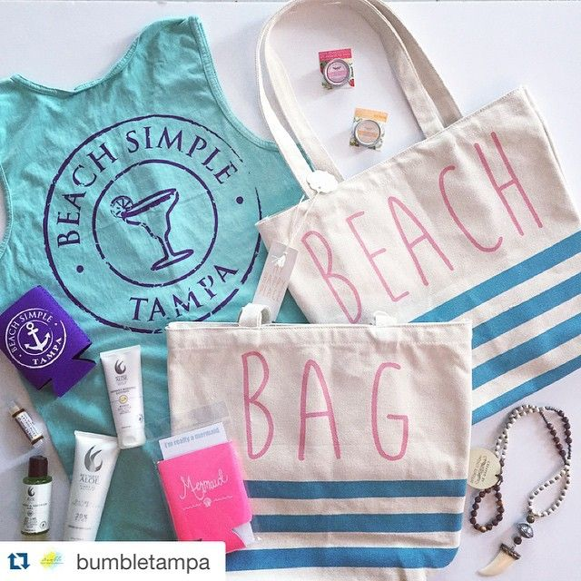 BeachSimple tank paired with some great accessories perfect for your weekend summer get away