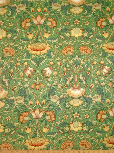 William Morris Vintage Liberty of London fabric. I triple