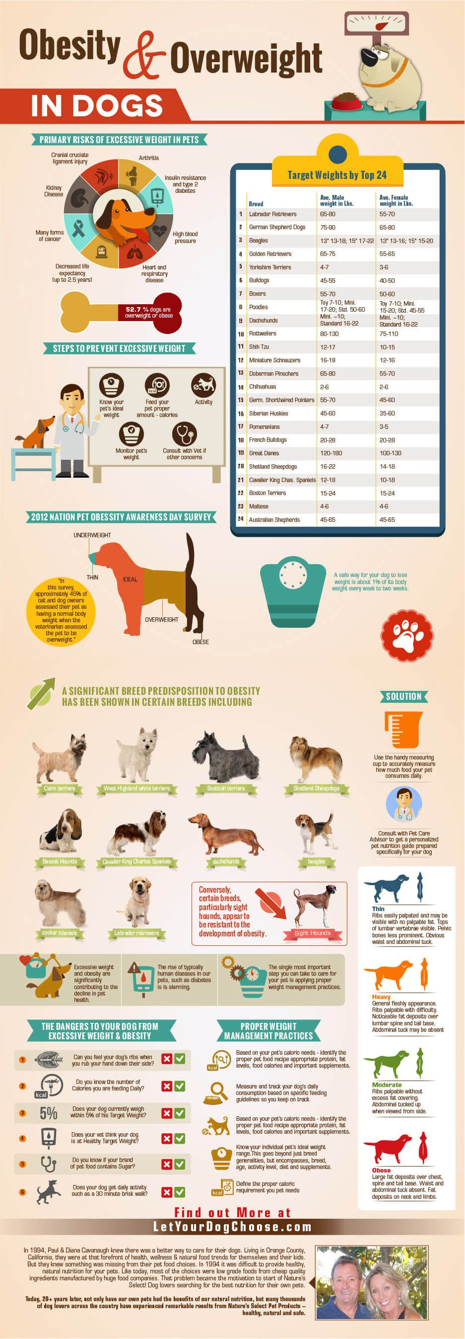 OBESITY & OVERWEIGHT IN DOGS. Dog infographic, Obesity