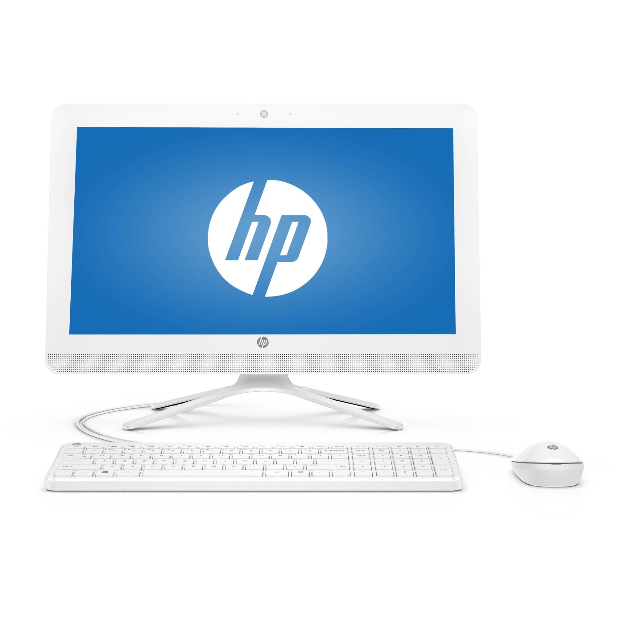 2017 New Flagship Hp 20 Snow White 19 5 Quot Hd All In One Business Desktop Intel Quad Core Pentium J3710 4gb Ram 500gb Hdd 7200rpm Intel Quad All In One
