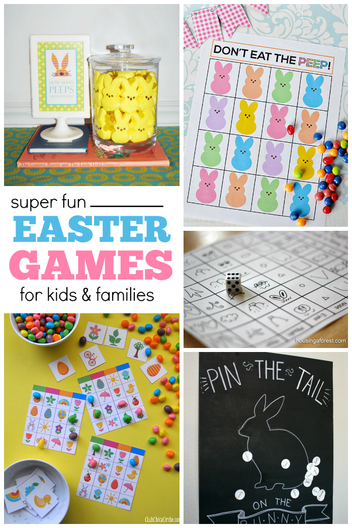 Awesome 27 Fun Easter Games For Kids