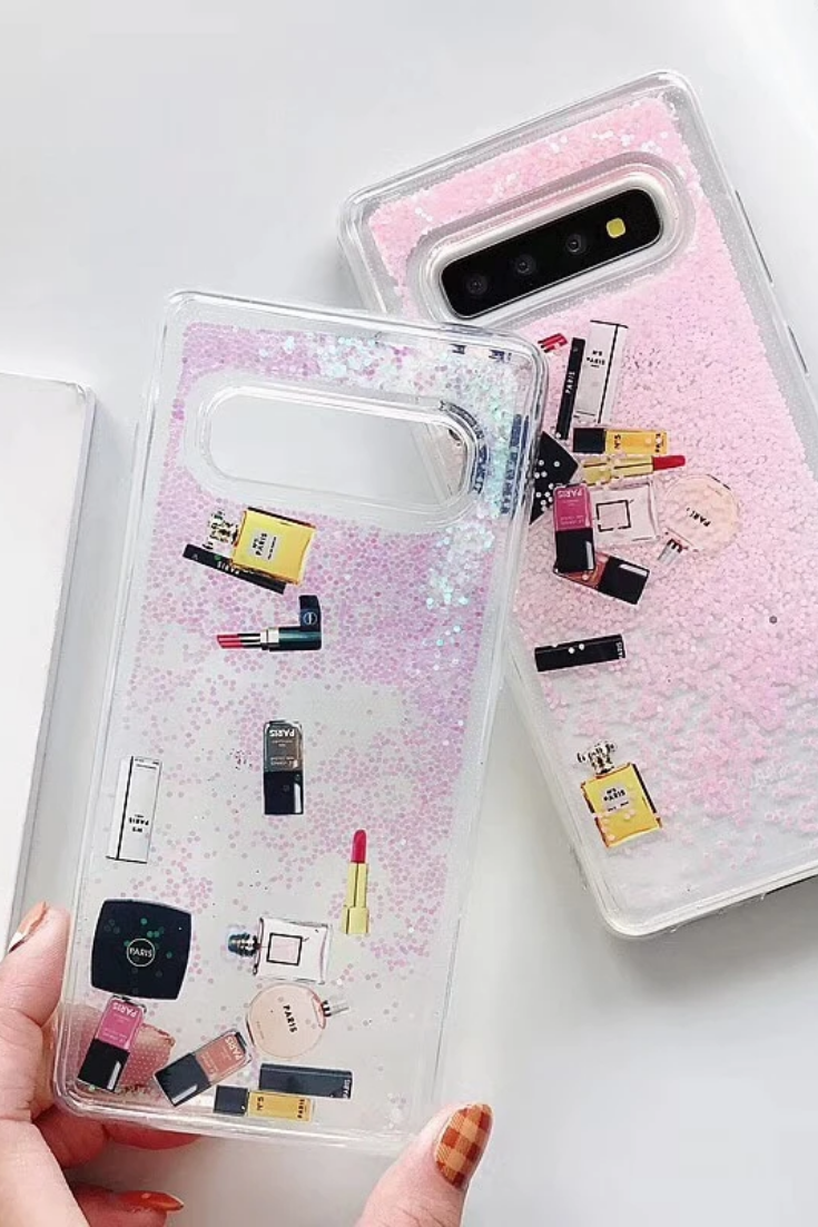 Luxury Glitter Makeup Cosmetic Quicksand Case Samsung