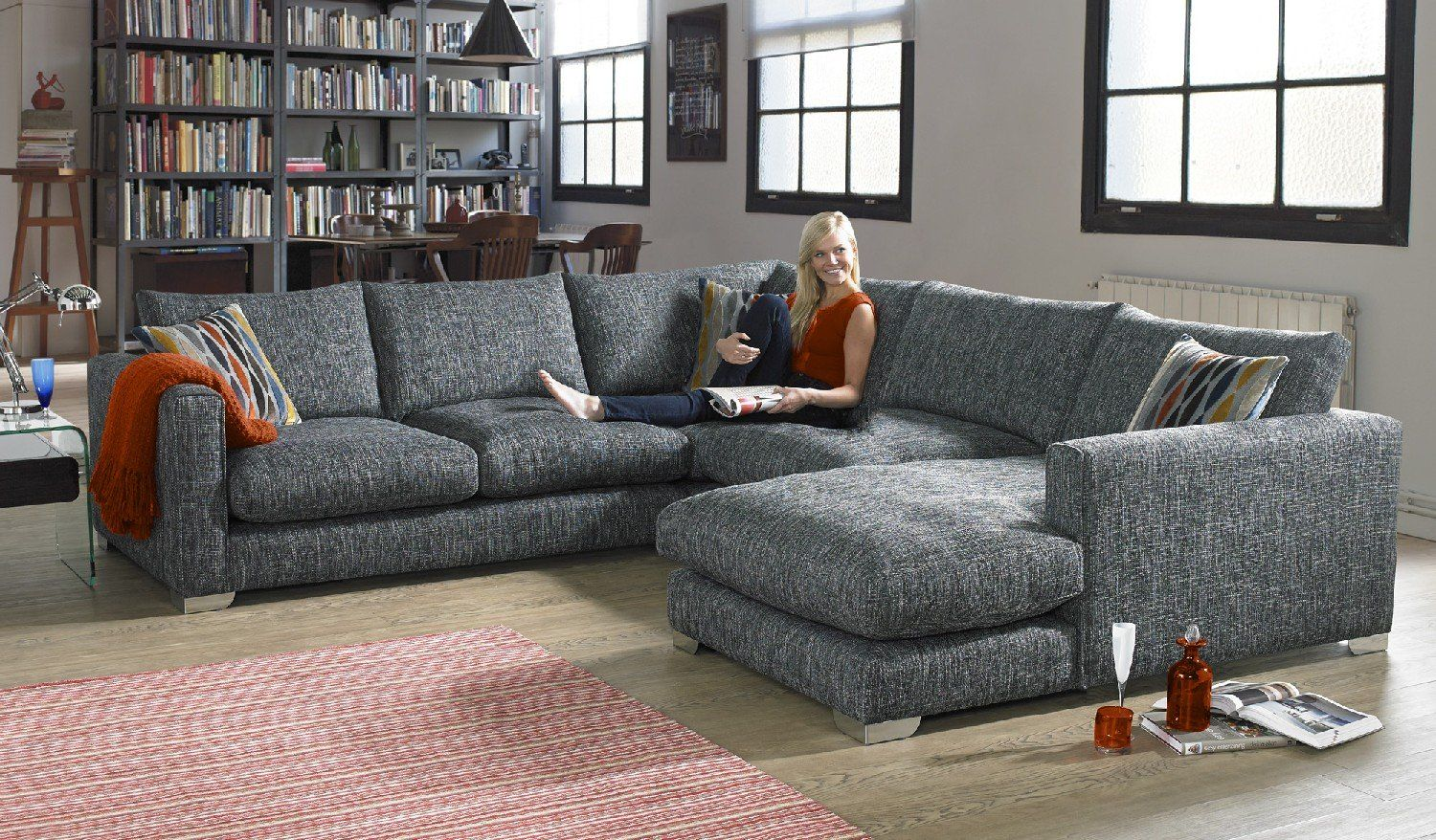 Sofa Three Seater Chaise