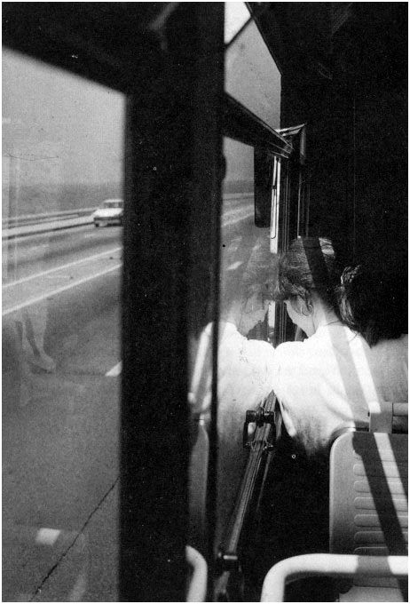 By bernard plossu shes going places but why is · stunning photographycreative photographyblack white