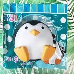 rare Jumbo Penguin squishy ~ super soft and squishy ~ scented