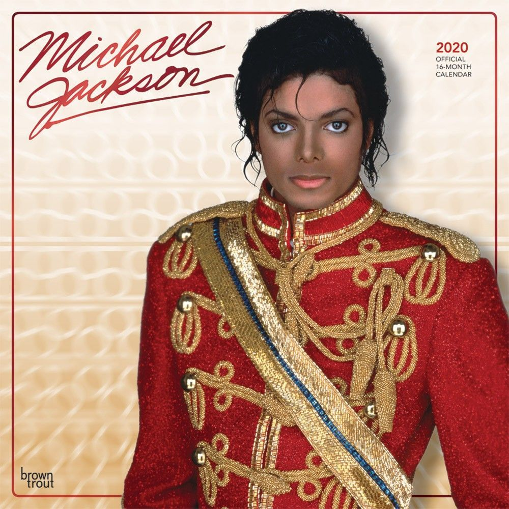 Michael Jackson 2020 12 x 12 Inch Monthly Square Wall