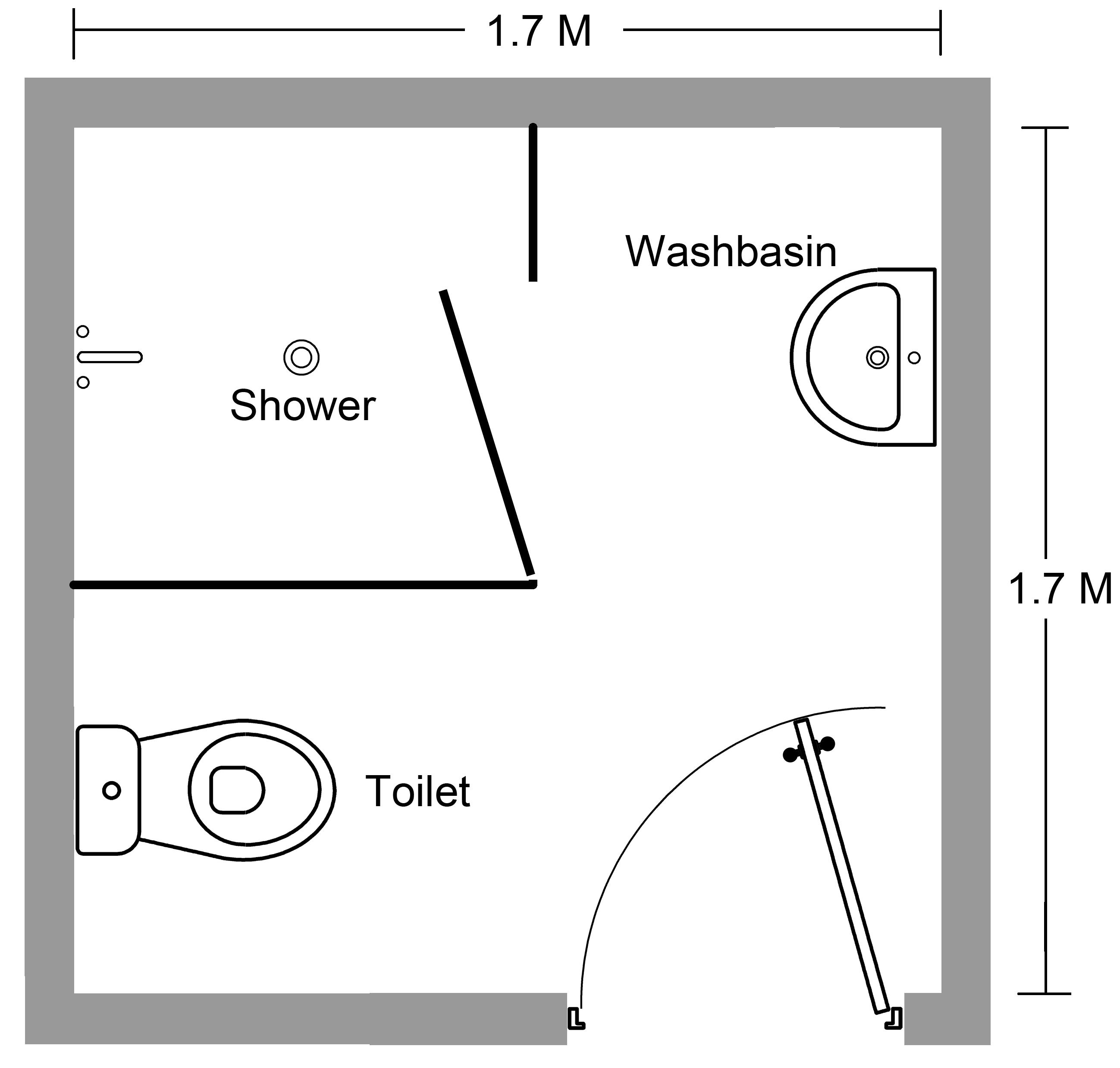Efficient Bathroom And Toilet Layout Design 1. interior designer ...