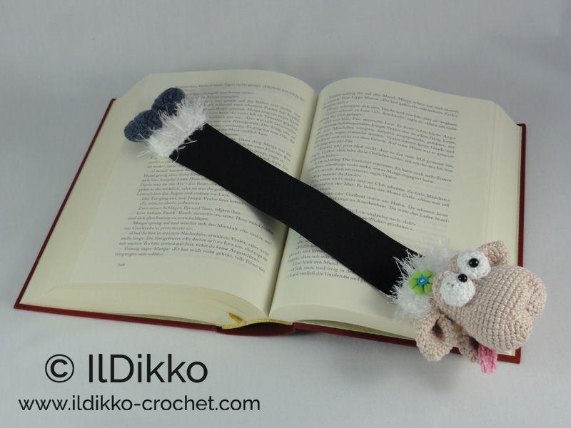 Baarney and Baarb the Sheep Bookmark – Crochet Pattern | | Applique ...