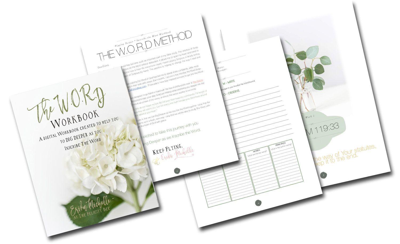 Workbooks workbook methods : The W.O.R.D Bible Study Workbook   Bible, Study methods and Bible ...