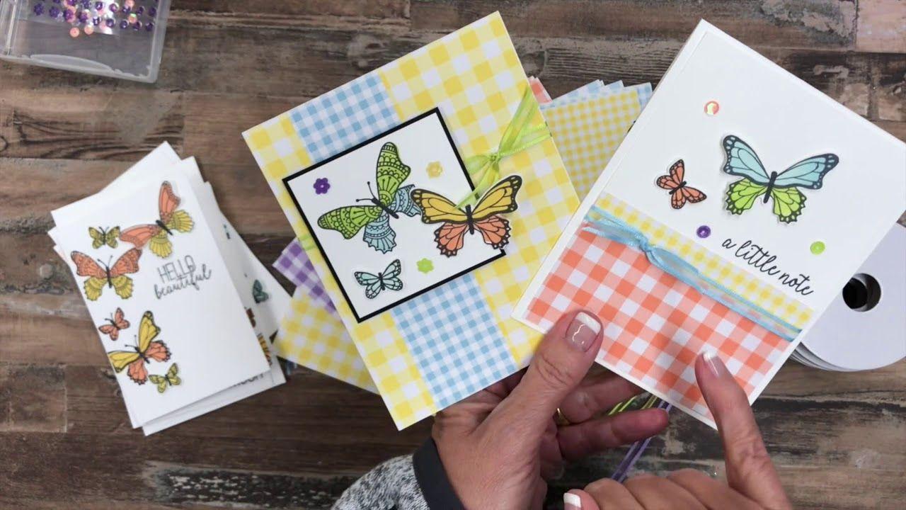 Video Butterfly Gala Card Making Kit Jackie Bolhuis Klompenstampers Card Making Kits Card Making Tutorials Card Making Videos