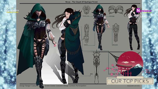 Black Desert Global Costume Design Contest 2018 Ninesaur Costume Design Contest Design Costumes