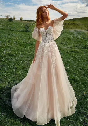 A Line Wedding Dresses Page 14 The Knot Nature Wedding Dress