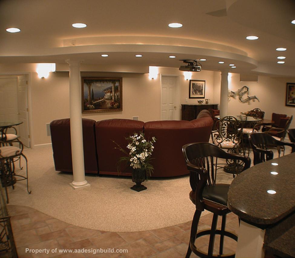 Photo Images Of Finished Basements | Finished Basement Design Ideas |  HomeClick Community