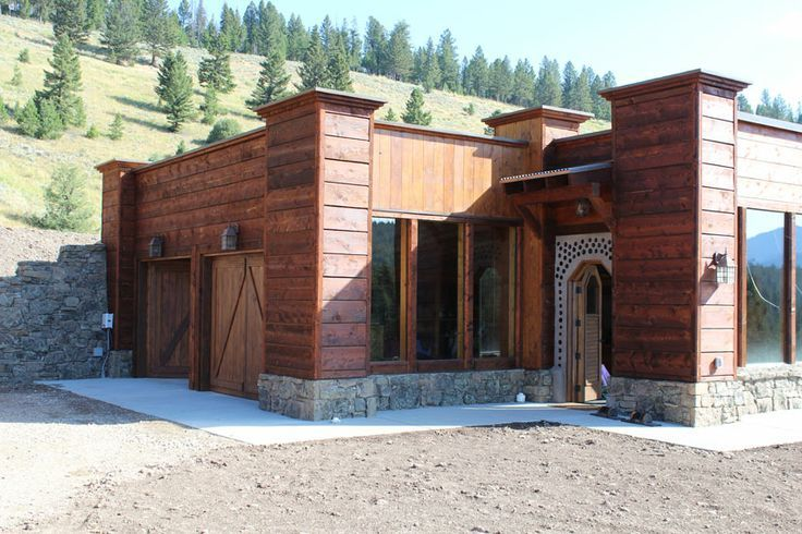 Big Sky Solar Powered Stone Earthship Is Off Grid Living Perfection In  Montana | Earthship, Big Sky And Montana