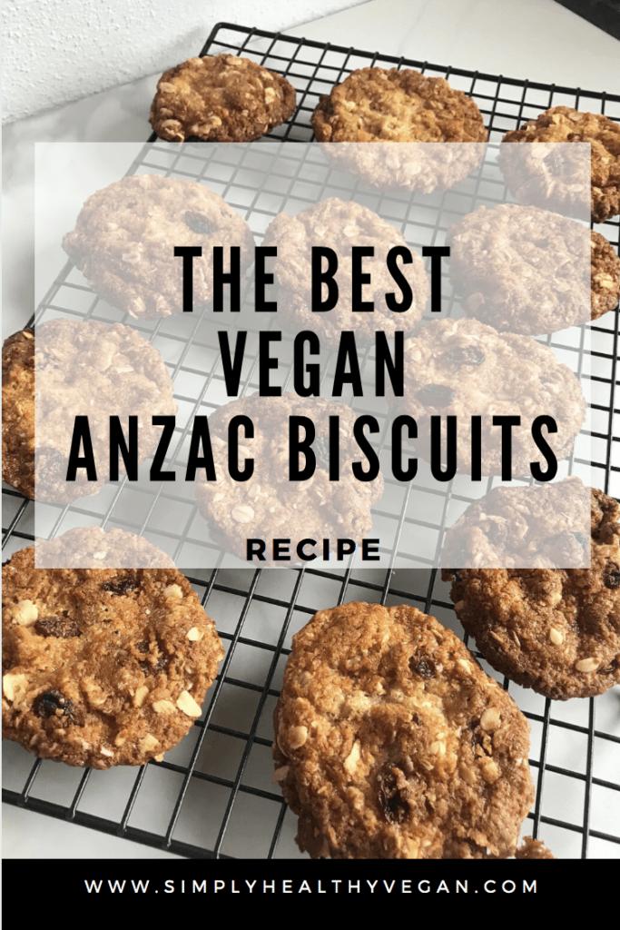 Vegan Anzac Biscuits Recipe Anzac Biscuits Allergy Free Recipes Biscuit Recipe