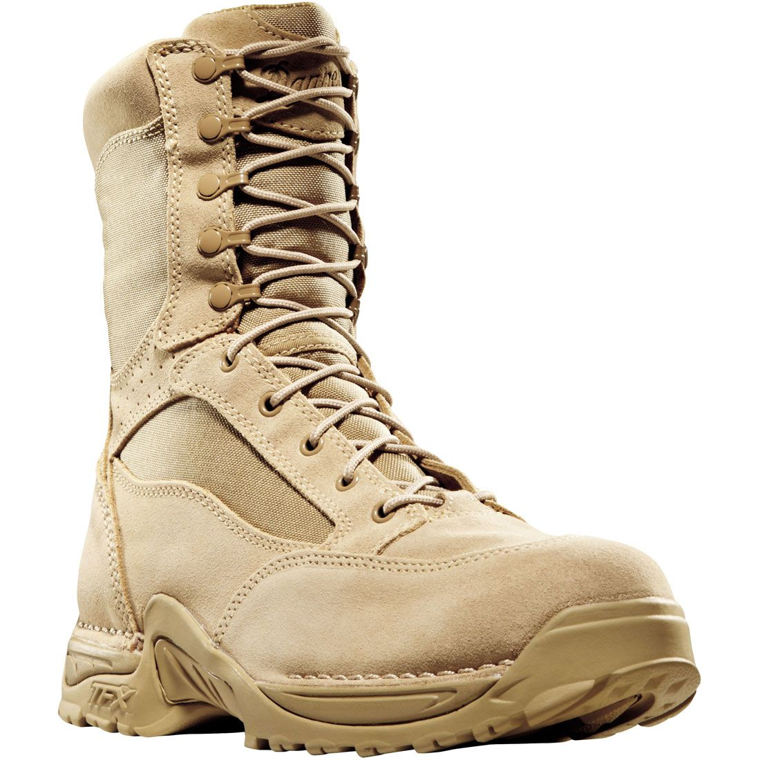 26014 Danner Men's Desert TFX Uniform Boots - Tan