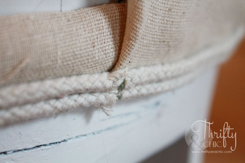 How to reupholster a chair seat when it wont come off