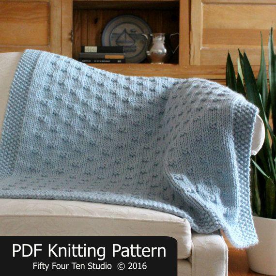 Blanket Knitting Pattern Belleview Blanket Throw