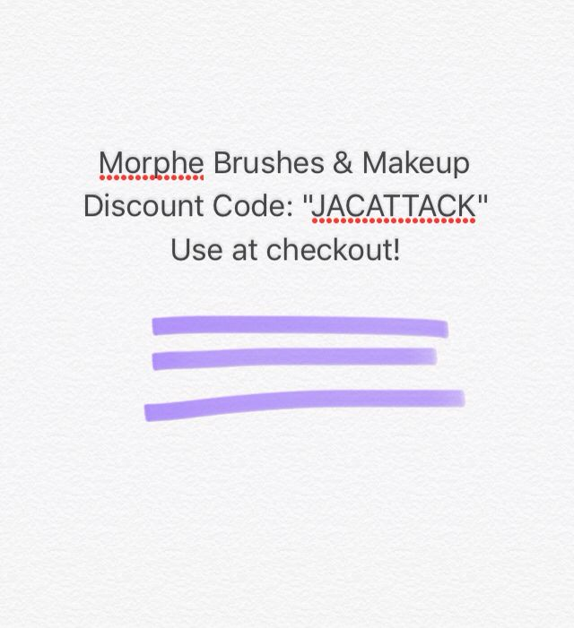 Morphe Discount Code Jacattack Use At Checkout For A Discount Morphe Discount Code Discount Makeup Morphe Morphe code for beauty, skincare & makeup palletes. morphe discount code jacattack use at