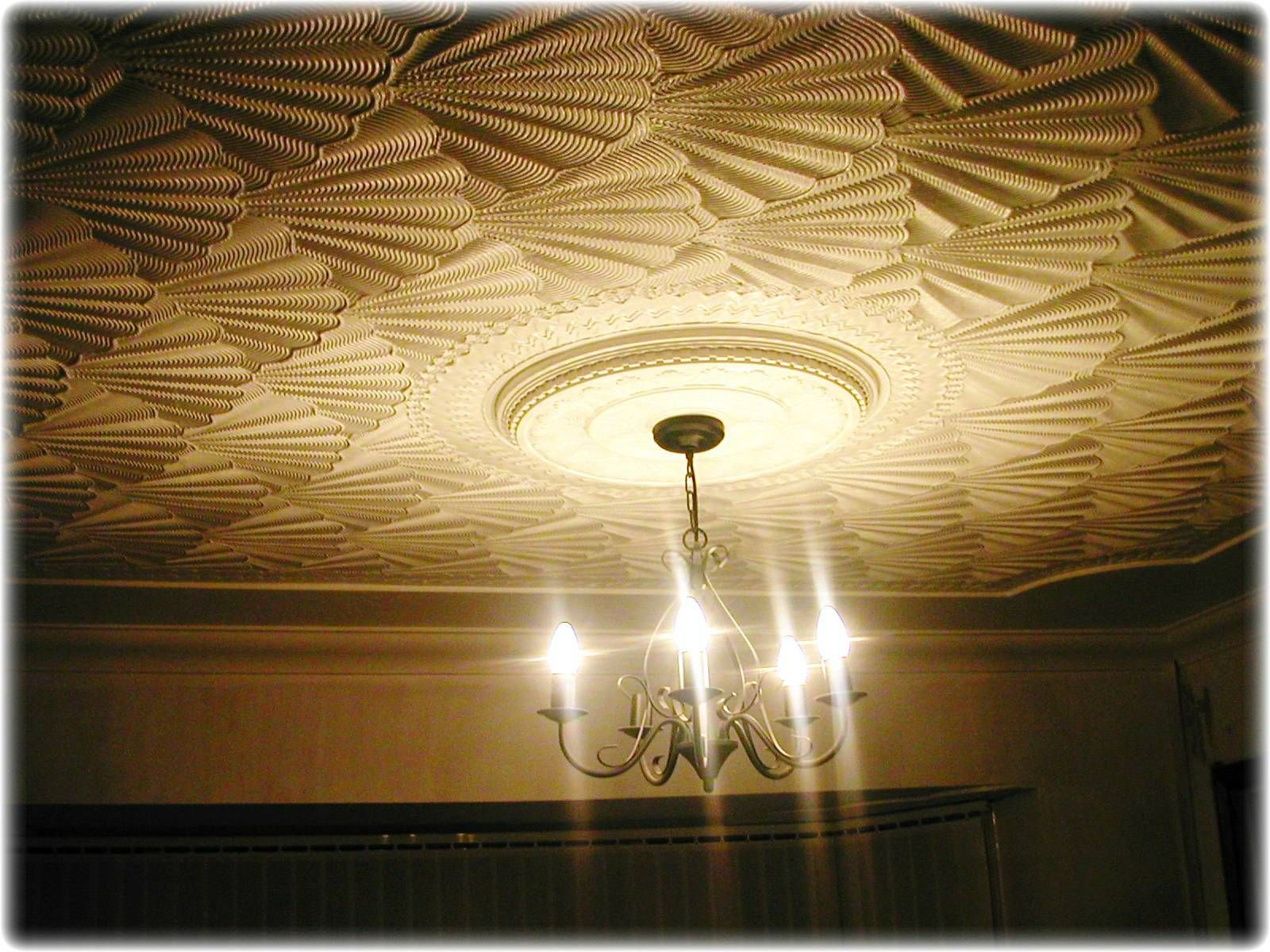 Creative Drywall Textures: How to Cure Porous Ceilings and Walls ...