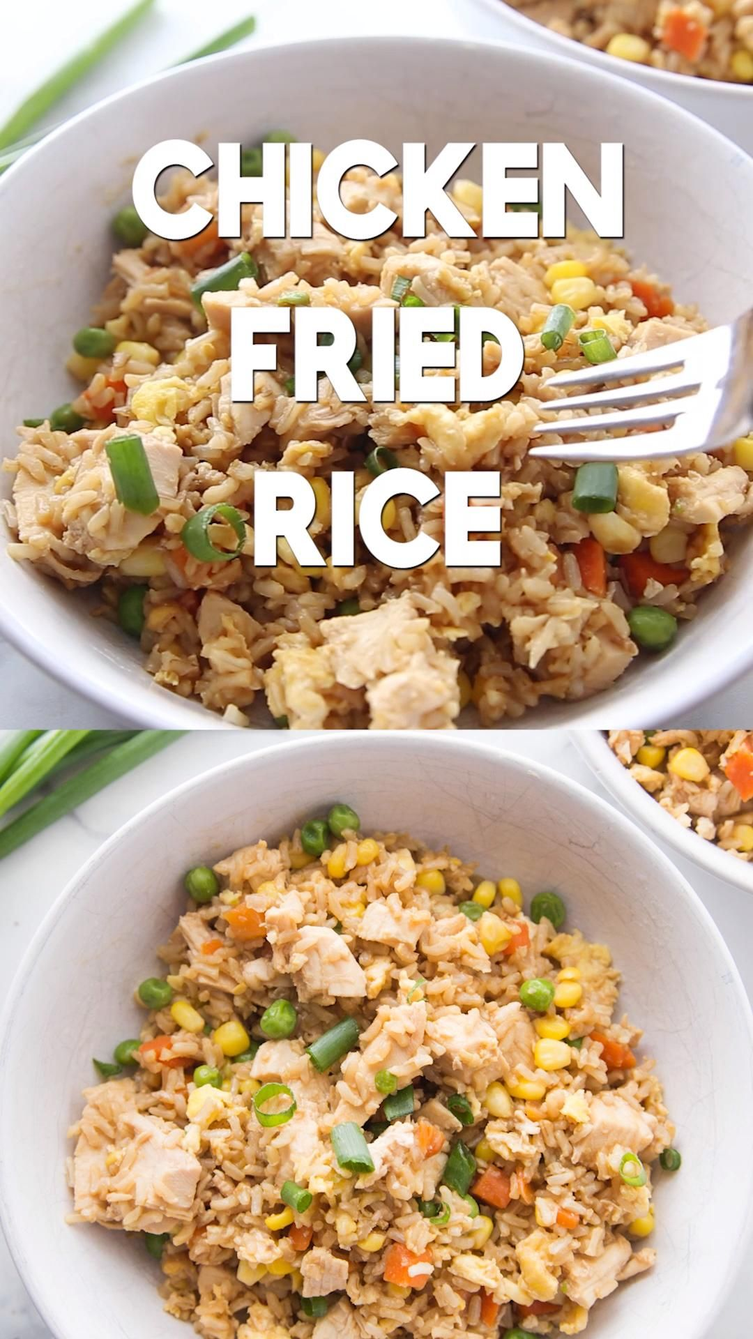 Chicken Fried Rice Recipe!