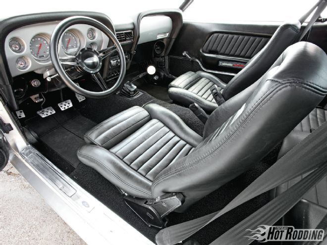 1302phr 02 O1970 Ford Mustanginterior Driver Seat  Mustangs and