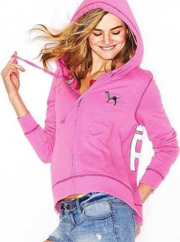 074d76c9a Buenisimo Buzo hoodie Yoga Victorias Secret Pink! -   549