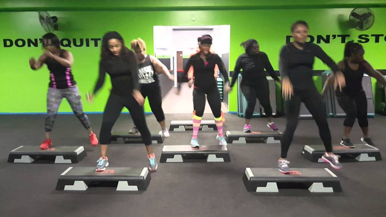 Xtreme hip hop with phil bussin it down aerobics