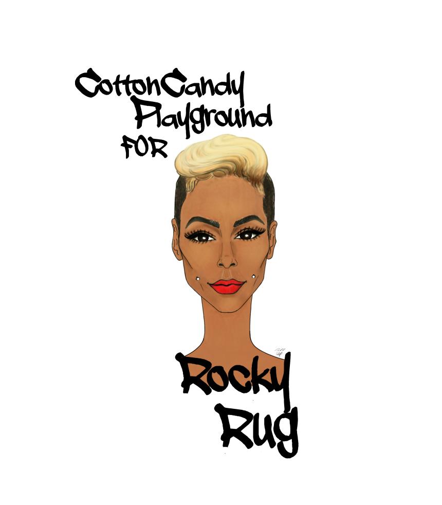 RockyRug Custom illustration. #rockyrug #fashionillustration #iotd #customillustration