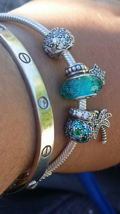 5f8ae7451b274 Pandora Sea Bracelet 2016 - this is my Isles of Scilly combo with my ...
