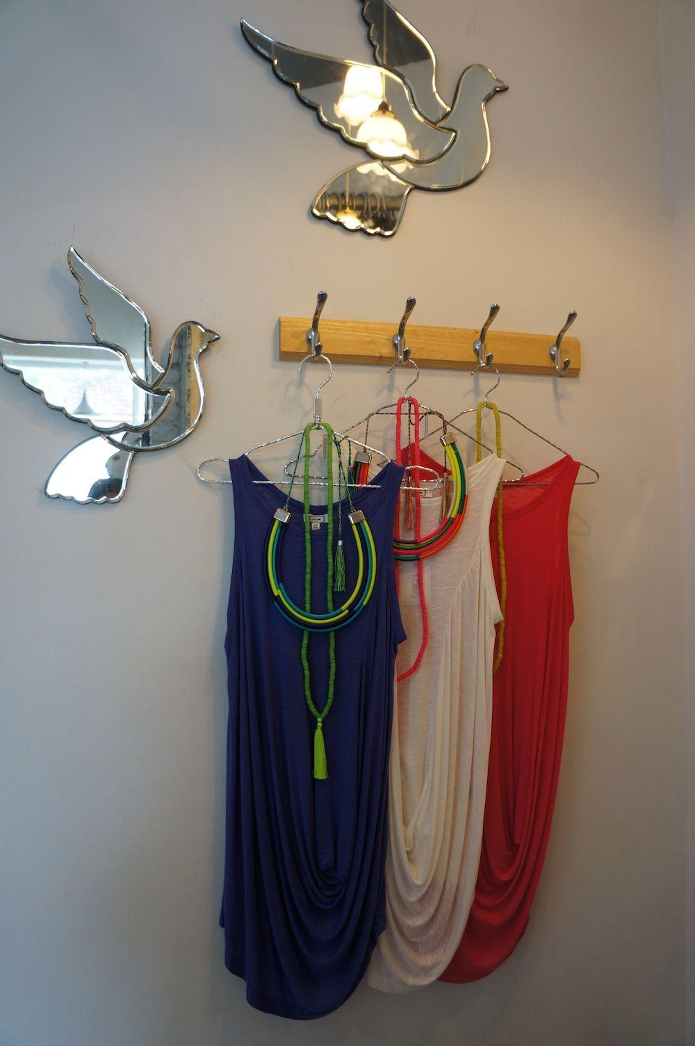 Summer dresses #comfortable #drape #colors #neon #necklaces #mirrorbirds #bali #conceptstore #letoko