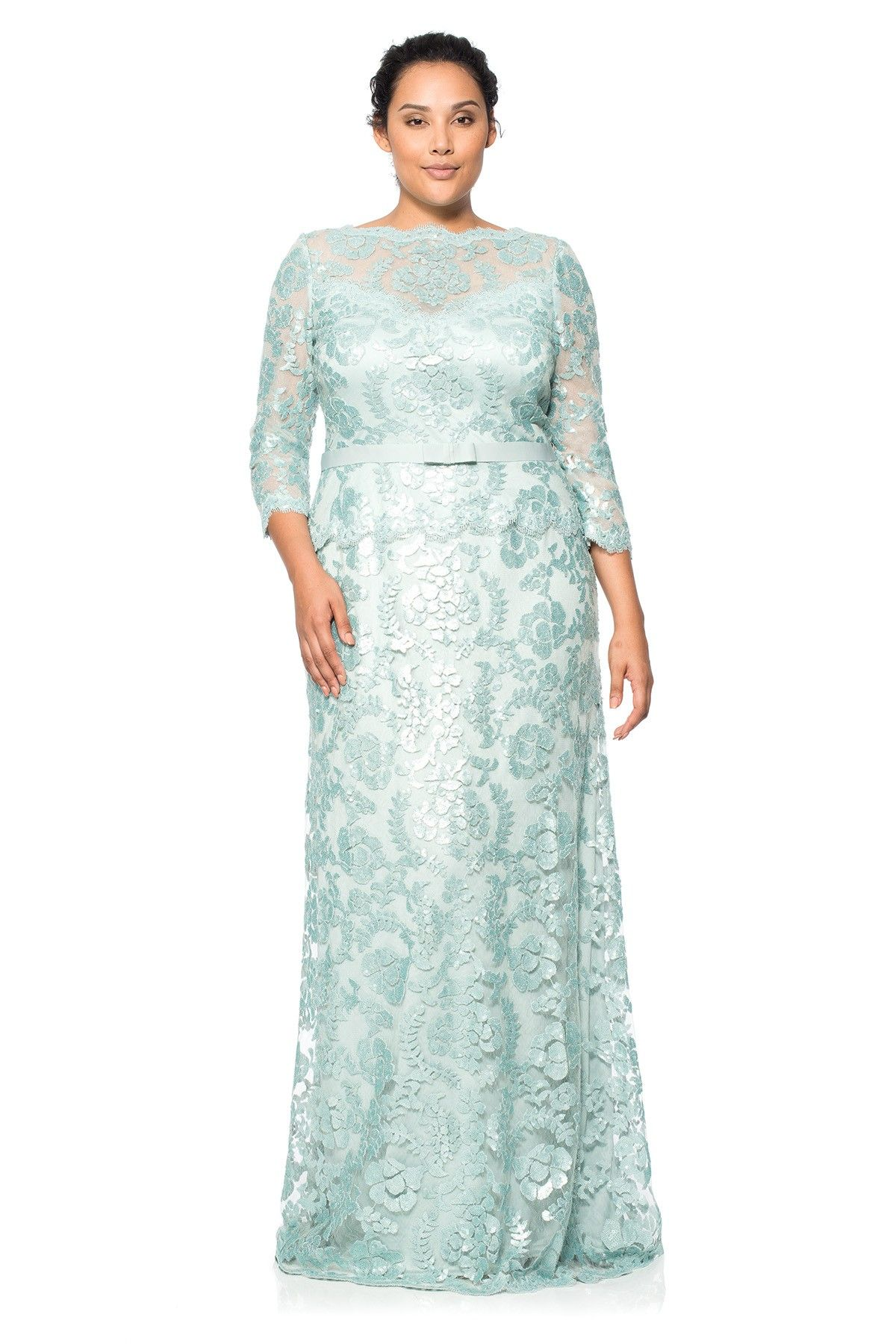 Contemporary Plus Size Modest Wedding Gowns Component - All Wedding ...