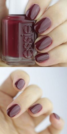 Maki Me Happy is an intense crimson that looks very similar to CND Oxblood, another new hue for fall. Clearly the deep reds are where it's at!