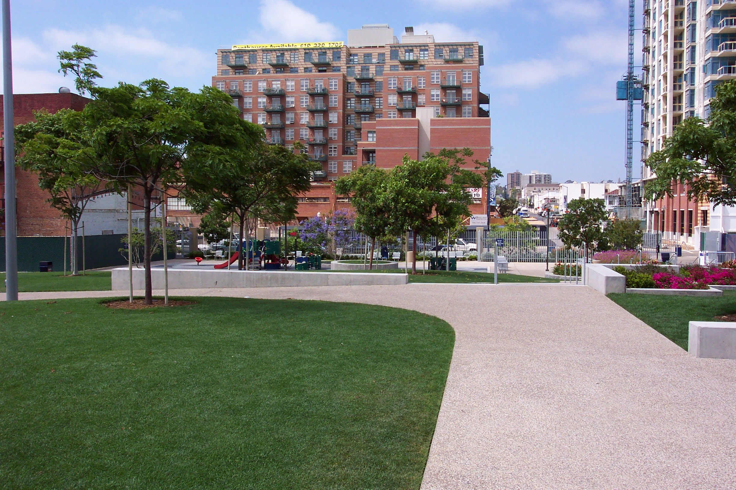 This Park Is Actually Part Of Petco When You Enter You Can Walk