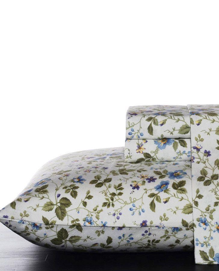 Spring Bloom Sheet Set Laura Ashley Flannel Sheets Bed King Sheet Sets