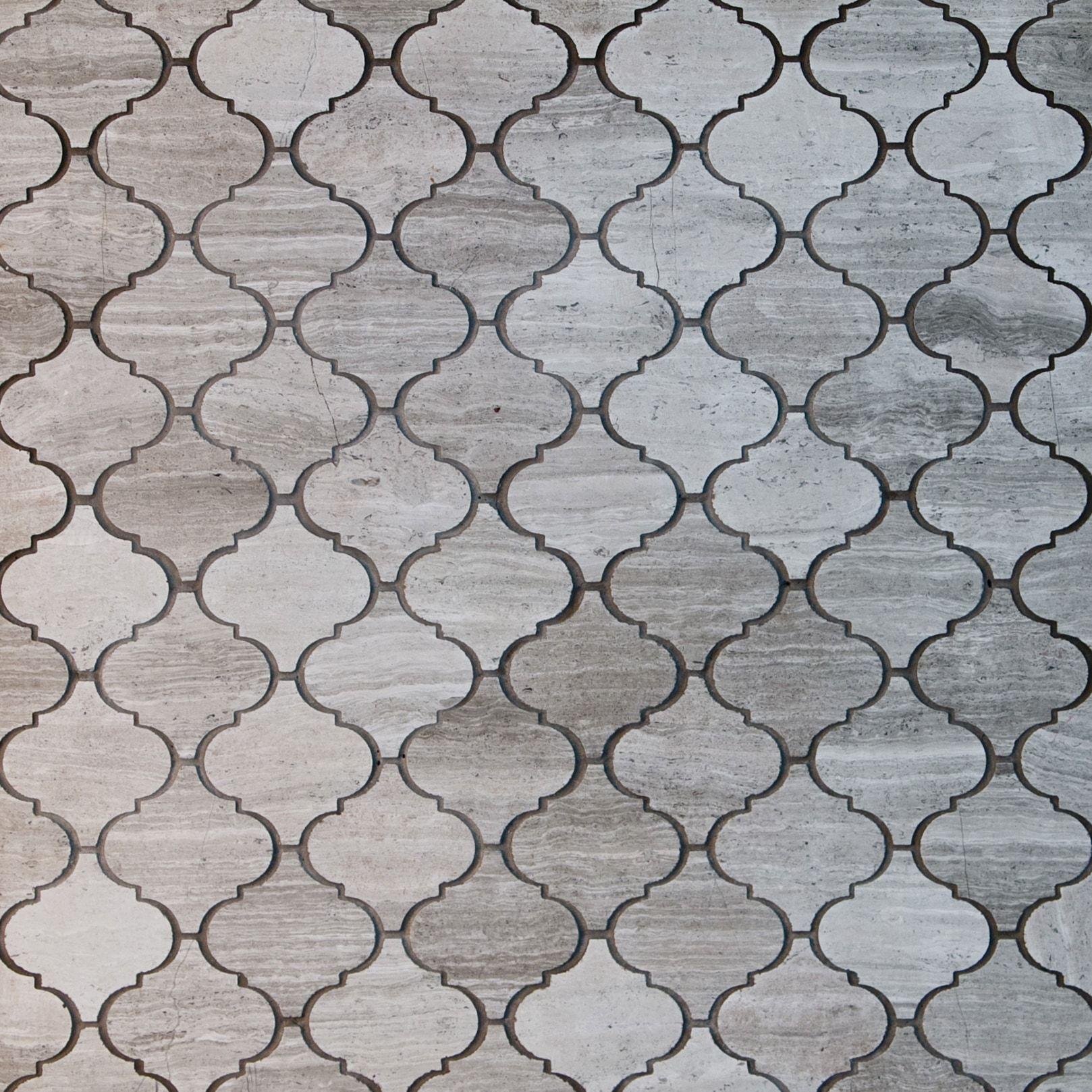 Tile Arabesque Pattern Marble Mosaics