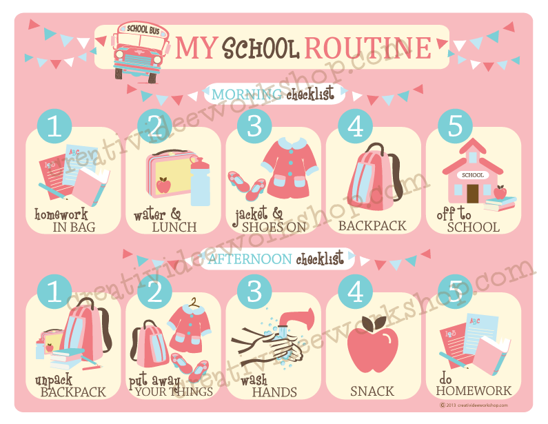 french essay school routine Learn french daily routine phrases and words in this audio lesson morning routine tips  my morning routine is one of those things  it worked best when a school had one place to collect my class so i could line them up before i  new school year essay.