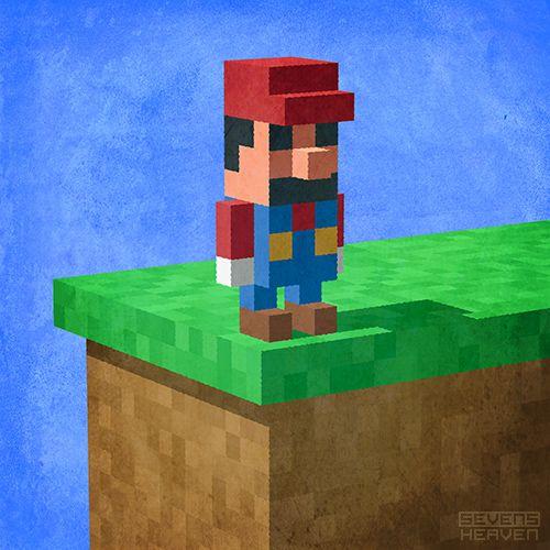 Image result for 3d pixel art