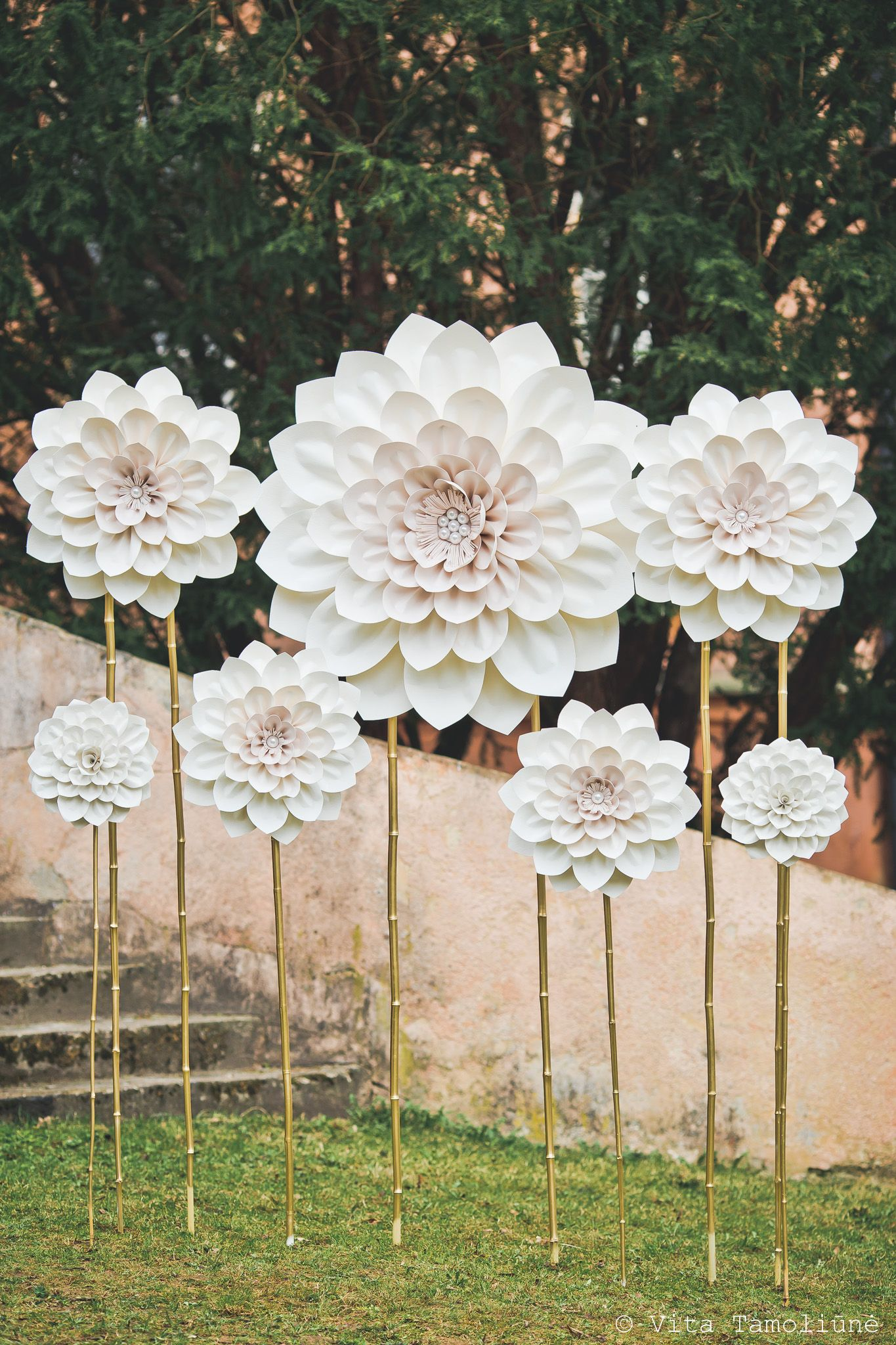 Popierins Gls Dek Paper Flowers Pinterest Flowers