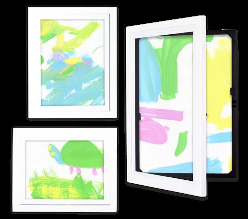 Bundled Or Discounted Items Save 15 Lil Davinci Art Gallery 3 Pc Set Pkg Ldag3 Frame Kids Art Art For Kids Framed Art