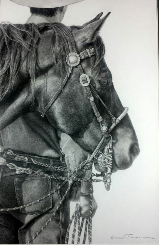 Equine Fine Art: Pencil, Charcoal & Pastel Horse Drawings Artist ...