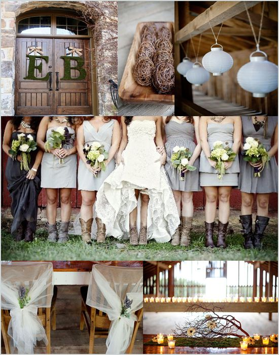 Country Wedding Ideas Inspiration Board