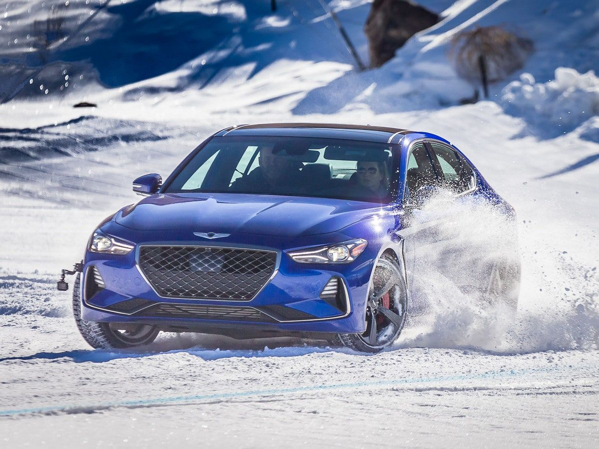 2019 Genesis G70 Quick Take Snow holiday (With images