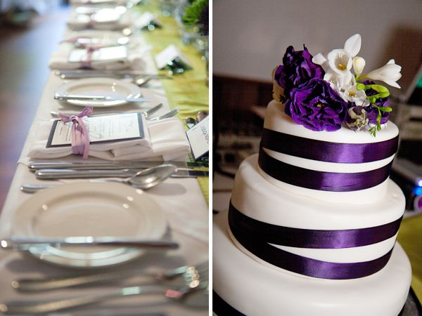 Purple And Green Wedding Cake Google Search Purple Wedding