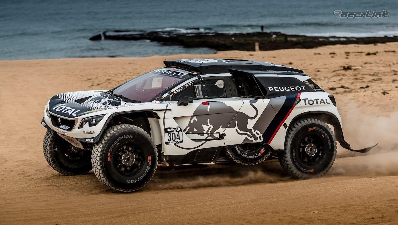 Peugeot 3008 Dkr Team Peugeot Total S New Dakar Rally Machine Lands On The Dunes Of Morocco Xe Ducati Sieu Xe