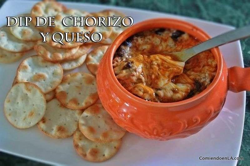 Receta de Dip de Chorizo con Queso Oaxaca