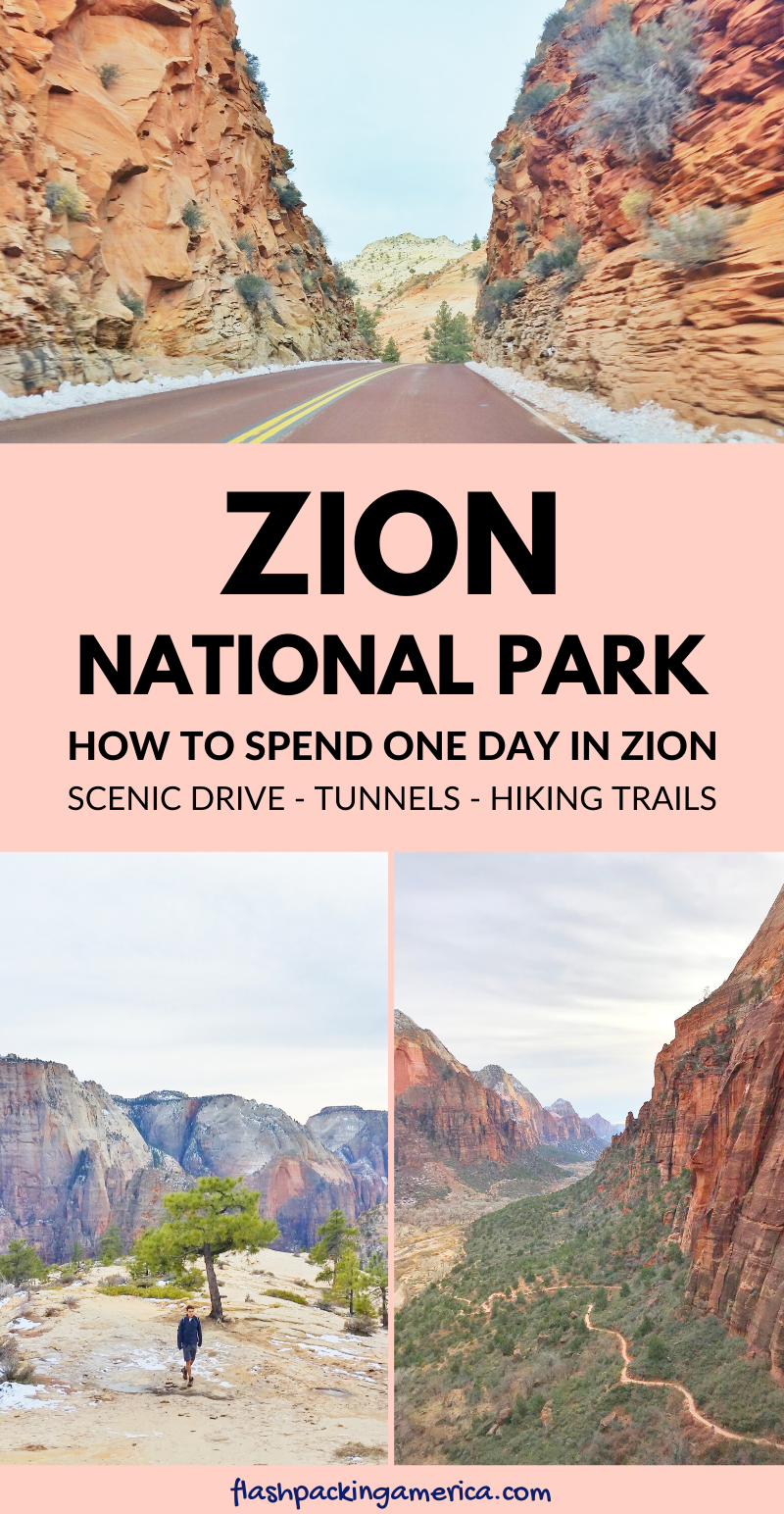 One day in Zion National Park - Utah road trip vac
