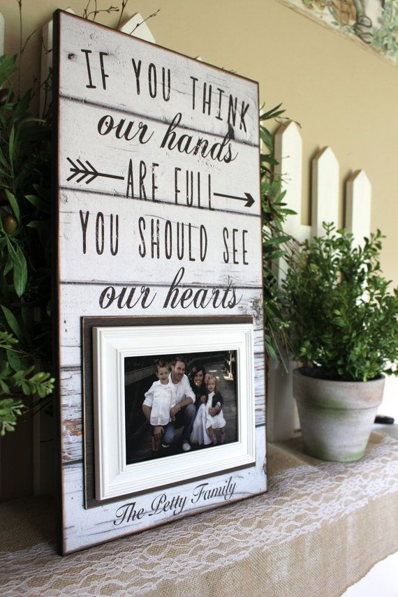 Personalized Family Photo Frame~ Family Name Frame~ You Think Our ...