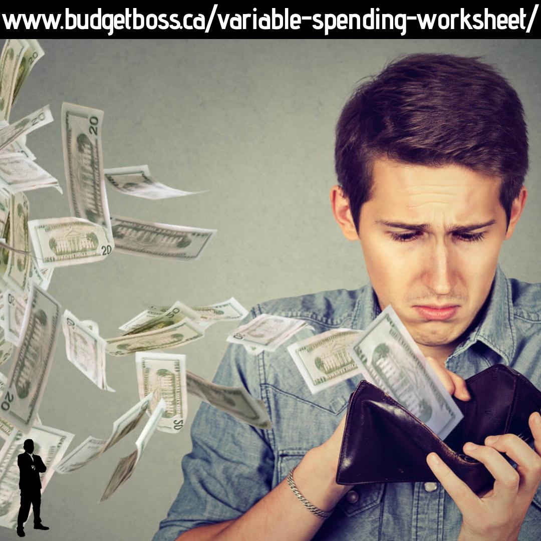 Variable Spending Worksheet