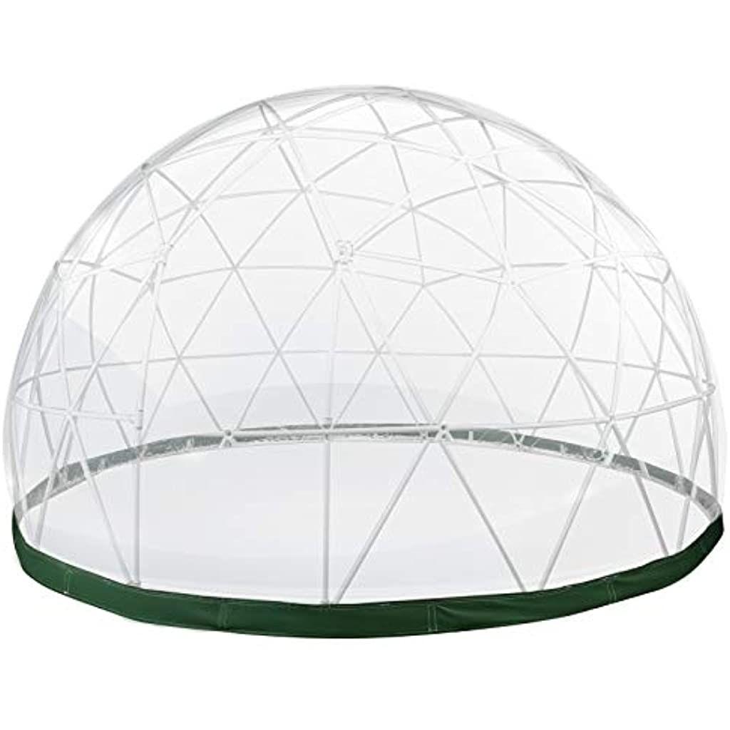 Vevor Tente Bulle Transparente Exterieur De Diametre De 12 Pieds Serre De Jardin Ronde Garden Igloo Jardin Dhiver Tente Dom En 2020 Tente Bulle Tente Dome Serre Jardin